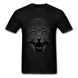 $enCountryForm.capitalKeyWord NZ - 2018 New Black Panther T Shirt For Men Fashion Summer Animal Printed Tees Mens Wild Crash Leopard Tshirt Top T Shirt
