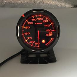 Toptan satış Ücretsiz Kargo 13 Arka Işık Rengi 1 60mm Yarış DEFI BF Bağlantı Otomatik Ölçer Yağ Sıcaklığı Ölçer Yağ Göstergesi Ölçerler