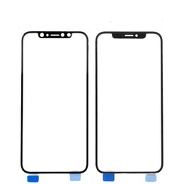 wholesale lens for iphone NZ - OEM Front Panel LCD Outer Glass Cover New Touch Screen Lens Replacement For iphone X 5.5inch