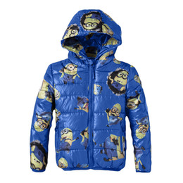 Minions clothing boy online shopping - Minion Jacket Kids Jacket For Boy Baby Clothes Winter Down Coat Warm Baby Children Girl Hooded cartoon baby boy clothes