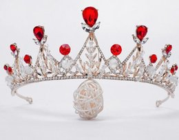China Brides handball beads, diamond crown, Korean style, hot metal, hand-made string crystal bead hair band. suppliers