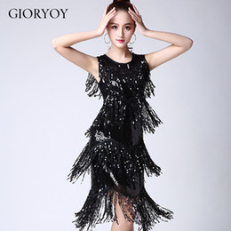 556834f1bd4f 2019 new Latin dance sequin tassel performance clothing Latin dance costumes  Party stage performance dress competition suit