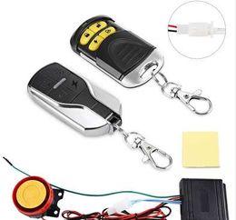 Engine Start Australia - Universal Motorcycle Bike Alarm System Scooter Anti-theft Security Alarm System Remote Control Engine Start+Alarme Moto Speaker