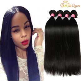 $enCountryForm.capitalKeyWord Australia - Brazilian Virgin Hair Straight Human Hair Bundles Grade 8A Unprocessed Brazilian Peruvian Malaysian Indian Human Hair Extensions