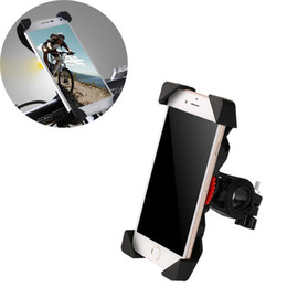 Wholesale Non slip Universal Rotating Bicycle Bike Phone Holder Handlebar Clip Stand Mount Bracket For Smart Mobile Cellphone ST04