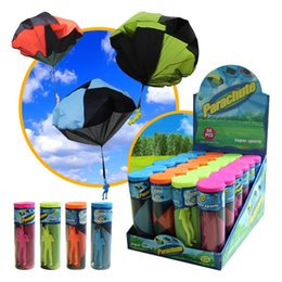 $enCountryForm.capitalKeyWord UK - NEW Outdoor Novelty Soldier Parachute Special Children Bauble Play With Friends Toy Plastic Brolly Hand Throwing Ballute