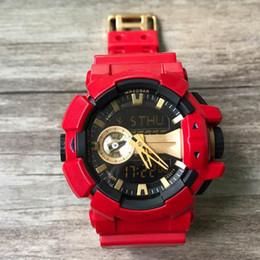 black white g shock watch 2019 - Shock Sport Men's Wristwatch Waterproof G Style Watches Rubber Military LED Digital Sport Watch Dropshipping Watche