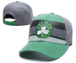China 2018 New Top Quality Men's celtics Golf Visor baseball Hat Embroidered logo Sport Basic Adjustable Cap Cheap celtics Flat Baseball Hats cheap basic cap suppliers