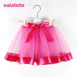 $enCountryForm.capitalKeyWord Australia - rose red Baby Tutu girl Skirts Princess pettiskirt ballet dance tutu skirt Kids party miniskirt wedding Chlidren clothing falda