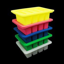 Novo design! Manteiga molde, retângulo molde de silicone para sabonete bar winkie, barra de energia, muffin, brownie, pão de milho, bolo de queijo, pudim venda por atacado