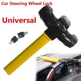 Heavy Duty Security Device Car Steering Wheel Security Lock Anti Theft Lock&Keys from self defense manufacturers