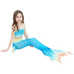 2018 New Ariel Children Swimming Mermaid Tail With Monofin Flipper Girls Kids Swimsuit Swimmable Mermaid Tails Costume  sc 1 st  DHgate.com & Shop Swimmable Mermaid Costume UK | Swimmable Mermaid Costume free ...