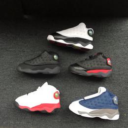 newest b273d 1a027 Citygear Garçons Filles 13s OG Chat Noir Chaussures De Basket-ball  Chaussures De Sport Pour Enfants Toddlers Enfants Cadeau D anniversaire EUR  22-27