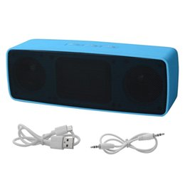 outlet tablet 2019 - bluetooth speaker factory outlet Portable Speaker Wireless Bass Stereo for Tablet Rechargeable high quality and free shi