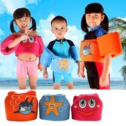 $enCountryForm.capitalKeyWord Canada - 3colors Age 2-6 Foam Cartoon Baby Arm Ring vest baby garment floating kids safety life vest childrens Swim life jacket l2250
