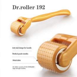 Skin Lightening Products Australia - Korean Skin Care Products Dr.roller 192 Micro Needle Derma Roller Beauty Care Face Wrinkle Remover