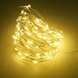 led copper wire string lights NZ - Copper Wire 20 30 40 LED String lights lamp for Christmas Tree Wedding Party Decoration Fairy Lights for Festival Birthday Decor