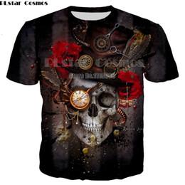 $enCountryForm.capitalKeyWord Canada - Brand Skull T shirt Skeleton T-shirt gun Tshirt Gothic shirts Punk Tee vintage rock t shirts 3d t-shirt anime men women styles
