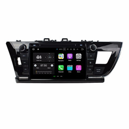 Car mp4 player 2gb online shopping - 2GB RAM Quad Core quot Android Car DVD Player Car Radio for Toyota Corolla Left With GPS Radio Bluetooth WIFI GB ROM USB DVR