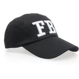 27796795e70 Snapback New Summer Baseball Caps Women Men FBI Letters embroidery Denim  Baseball Cap Snapback Hip Hop Flat Hat bone casquette