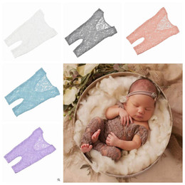 Beautiful Infants NZ - INS Newborn Baby Fawn Lace Rompers Baby Photography Props Infant Beautiful Long Leg Lace Romper With Gorgeous Open Back Design YL121