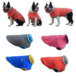 Wholesale Winter Pet Clothes For Small Medium Dogs Puppy Clothing Chihuahua Coat Jackets Pug Costumes Warm Fleece Vest For French Bulldog
