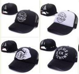 Deus Ex Machina Baylands Trucker Snapback Caps Black MOTORCYCLES Mesh  Baseball Hat Sport Cotton Drake 6 God Pray Ovo October Cap bone gorras 6cd2f428e8a3