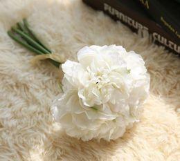 $enCountryForm.capitalKeyWord NZ - HOT! Beautiful Wedding Bouquet Perfect Wedding Favors Bride Hand Holding Flower Artificial Flowers Adornment Silk