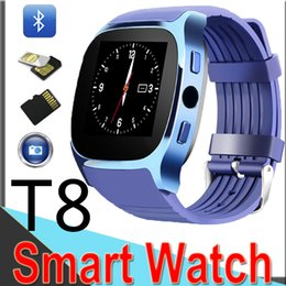 $enCountryForm.capitalKeyWord Canada - New Smart Watch T8 Bluetooth with Camera Facebook Whatsapp Support SIM TF Call Smart Band for Android IPhone9 xt6