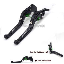 Levers For Kawasaki Australia - Motorcycle Six position adjuster Foldable Extendable Brake Clutch lever Set For Kawasaki Z900 2017