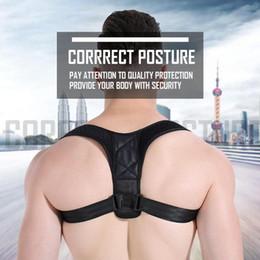magnetic posture support corrector back belt 2019 - Male Female Adjustable Magnetic Posture Corrector Corset Back Brace Back Belt Lumbar Support Straight Corrector de espal