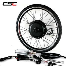 Motor Bicycles Australia - Electric Bike Conversion Kit E BIKE 48V 1000W 1500W Bicycle Hub Motor Wheel for 20 24 26 700C 28 29in Rear Wheel Motor