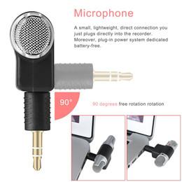 Discount microphone plugs - Blueskysea Mini Digital Stereo Microphone 2 Channels 3.5mm L-Shap Gold-Plat Plug Microphone for Laptop Audio Recording C