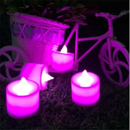 Wholesale Electronic Wedding Candles Decorative Led wax Candle Light Romantic marriage propose Valentine s day Decor candle For Home Decorat