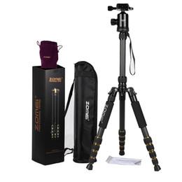 $enCountryForm.capitalKeyWord Australia - ZOMEI Z699C Carbon Fiber Alloy Portable Tripod Monopod with Ball Head Carry Bag Compact Travel for Digital SLR DSLR Camera