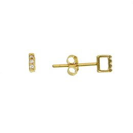 $enCountryForm.capitalKeyWord UK - Nice simple tiny 100% 925 sterling silver hollow square gold silver color mini cute stud earrings screw back ear stud jewelry