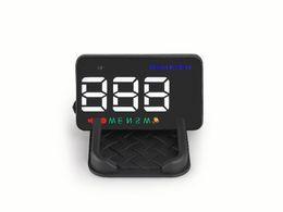 $enCountryForm.capitalKeyWord Australia - Innovative LED HUD display aftermarket car HUD projector GPS head up display with compass MPH KMH auto lightness adjustment