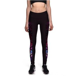 wholesale plus size tights leggings UK - Women Running Tights Sport Yoga Leggings Pants Fitness Clothes for Gym Jogging Sports High Waist Workout Sportswear Plus Size