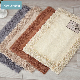 microfiber kitchen mats Australia - Home Decoration New Brand Chenille Carpet Mats Doormat Kitchen Bathroom Carpet Mat Absorbent Non-slip Mat 40x70cm Alfombras Living Room Rugd