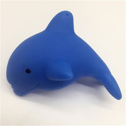 China New Creative Dolphin Shape Children Swiming Water Toys Baby Bath Toy Colorful LED Flashing Lamp Change For Children Baby Toy supplier toys change shape suppliers