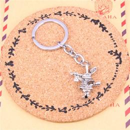 $enCountryForm.capitalKeyWord Canada - Keychain 3D horn bunny rabbit Pendants DIY Men Jewelry Car Key Chain Ring Holder Souvenir For Gift