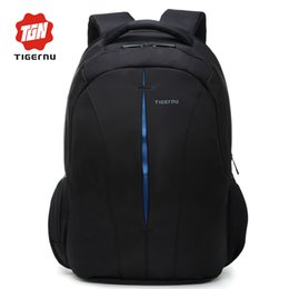 online shopping 2018 Tigernu Brand waterproof inch laptop backpack men backpacks for teenage girls travel backpack bag women male Free gift