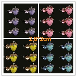 Dog Grooming Hair Clip Australia - 2018 New Dog Grooming Cute Strawberry Bunny Pet Clip Hair Accessories Fade Dripping Frog Clips Trinket Ornaments 6pcs lot