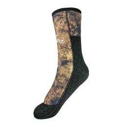Calcetines de buceo de neopreno de camuflaje 5 mm Zapatos de arranque Hombres  Mujeres para la pesca submarina Pesca submarina Buceo Snorkeling Surf 4574ef98b62