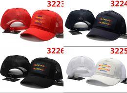branded baseball mesh caps 2018 - 2018 European and American style Luxury Cap brand hat best quality baseball cap fashion sun hat new snapback hat casquet