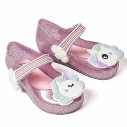 0a0e12aec 2018 Low Price Unicorn New Summer For Mini Shoes Girls Sandals Jelly Shoe  Fish Mouth Baby Girl Non-slip Kids Fashion Sandal Toddler