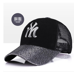 $enCountryForm.capitalKeyWord Canada - Summer Breath English Letters Hat Men Outdoor Mesh Sports Hats For Men Baseball Cap Ladies Sun Hat Women Adjustable Sneakers Caps