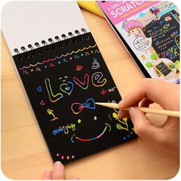 Kids Painting Book Australia - Hot 14*10cm Baby Painting Book Kids Coating Drawing Cartoon Book DIY Graffiti Book Educational Baby Toys