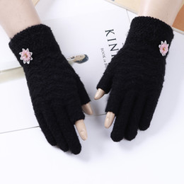 $enCountryForm.capitalKeyWord Australia - Hot selling christmas touch screen gloves winter warm cashmere mitten women girls party gloves fashion for sale