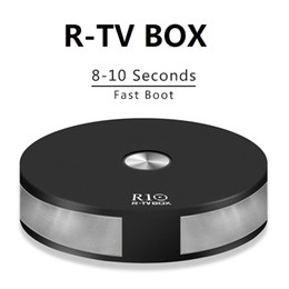 Hs wHolesale online shopping - R TV R10 Android TV Box RK3328 Quad Core GB GB G G Wifi Bluetooth Fast Boot USB3 H HDR10 D K iptv Media Player